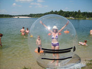 атракцион-водный шар