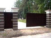 Ворота откатные (консольные),  ворота распашные,  заборы и т.д.