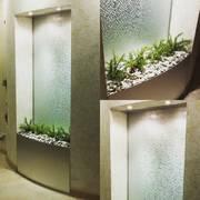 Декоративные водопады по стеклу Жодино