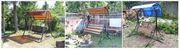 Садовые разборные качели с доставкой в Слониме